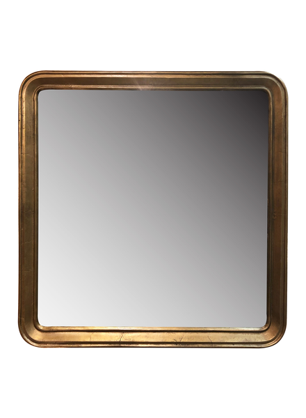 HomArt Adelaide Mirror, Brass - Square - Brass