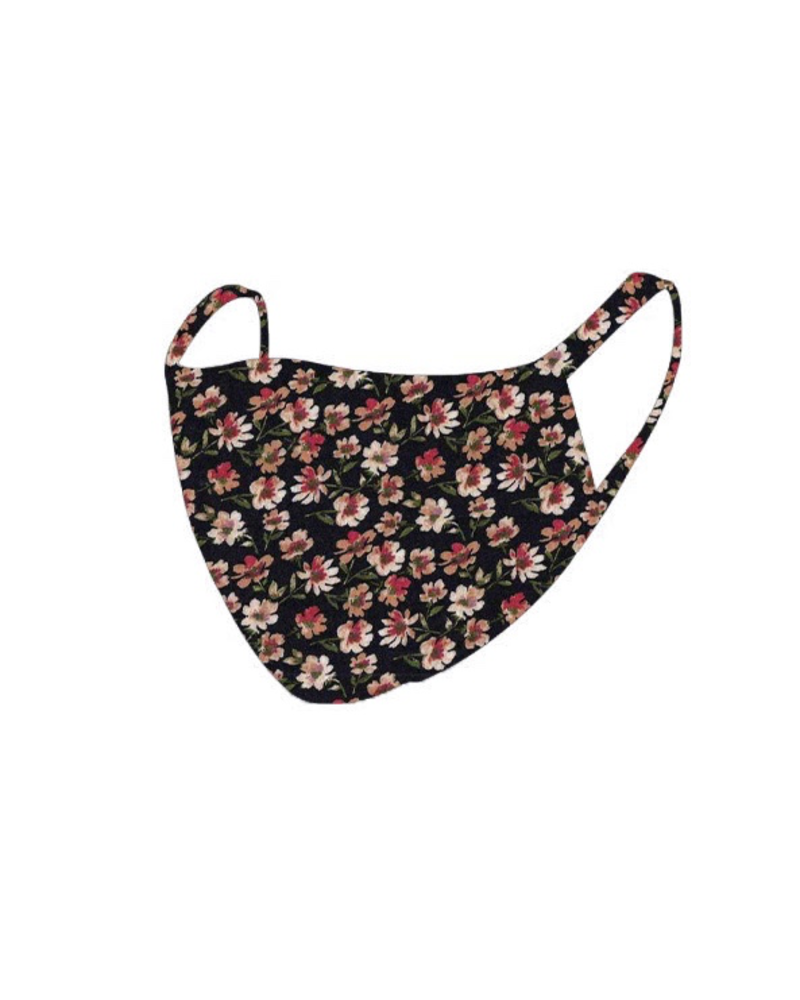 The Skate Group Floral Face Mask