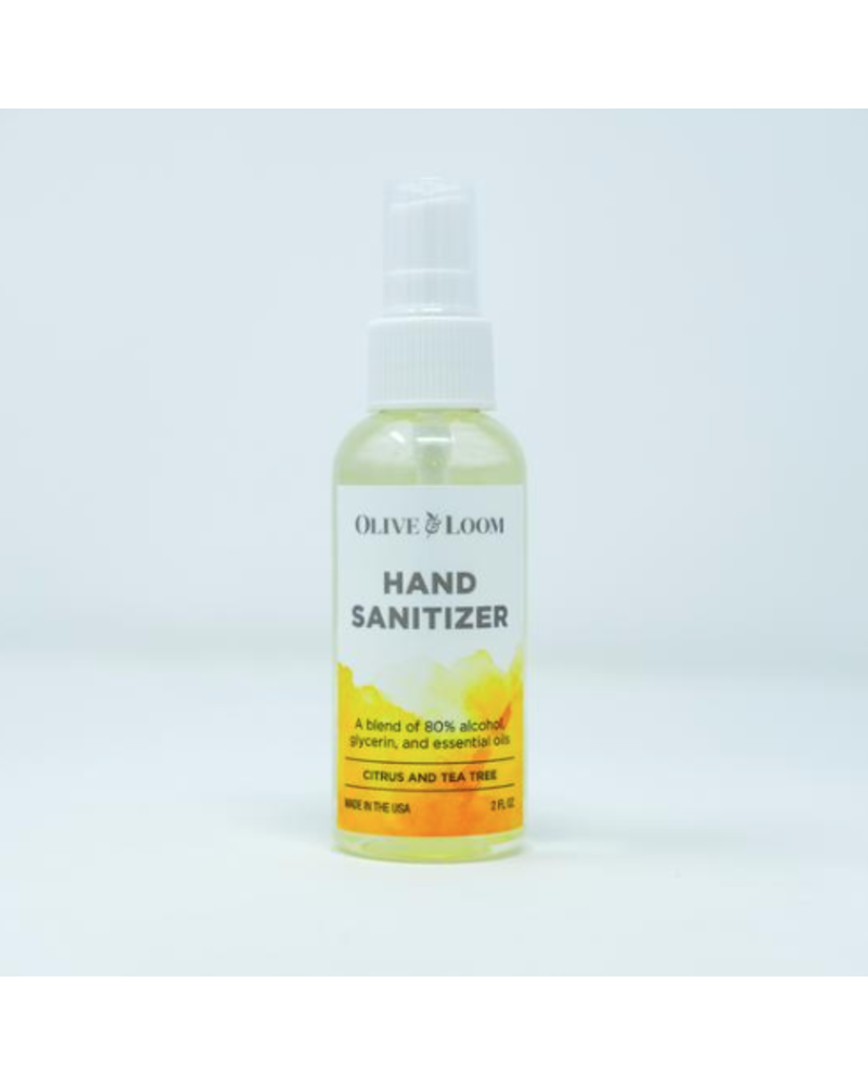 Olive and Bloom Citrus & Tea Tree Hand Sanitizer 2oz