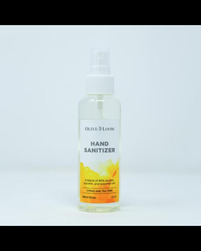 Olive and Bloom Citrus & Tea Tree Hand Sanitizer 4oz