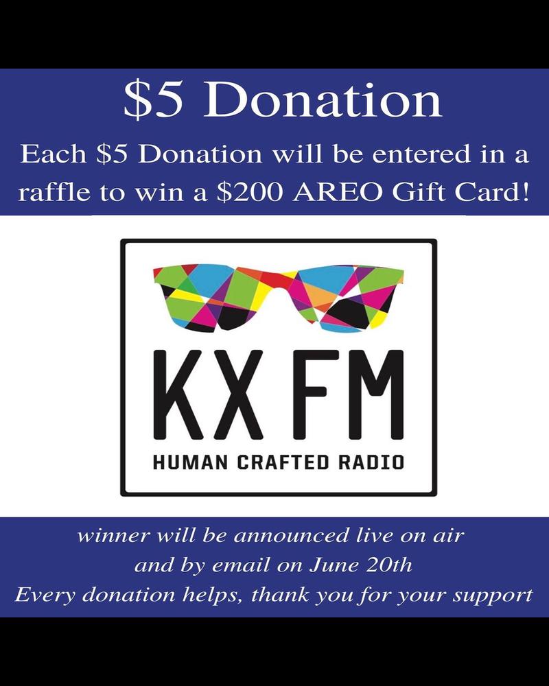 DONATION $5 Donation Sponsoring KX FM