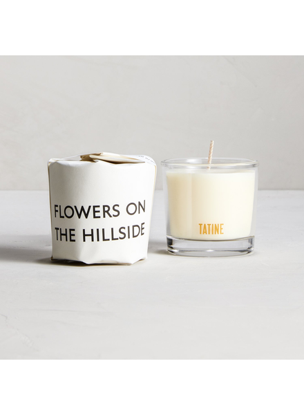 Tatine Flowers on the Hillside Votive