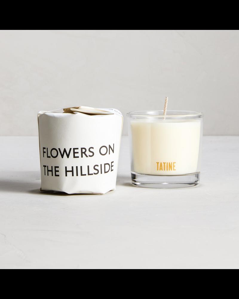 Tatine Flowers on the Hillside Votive