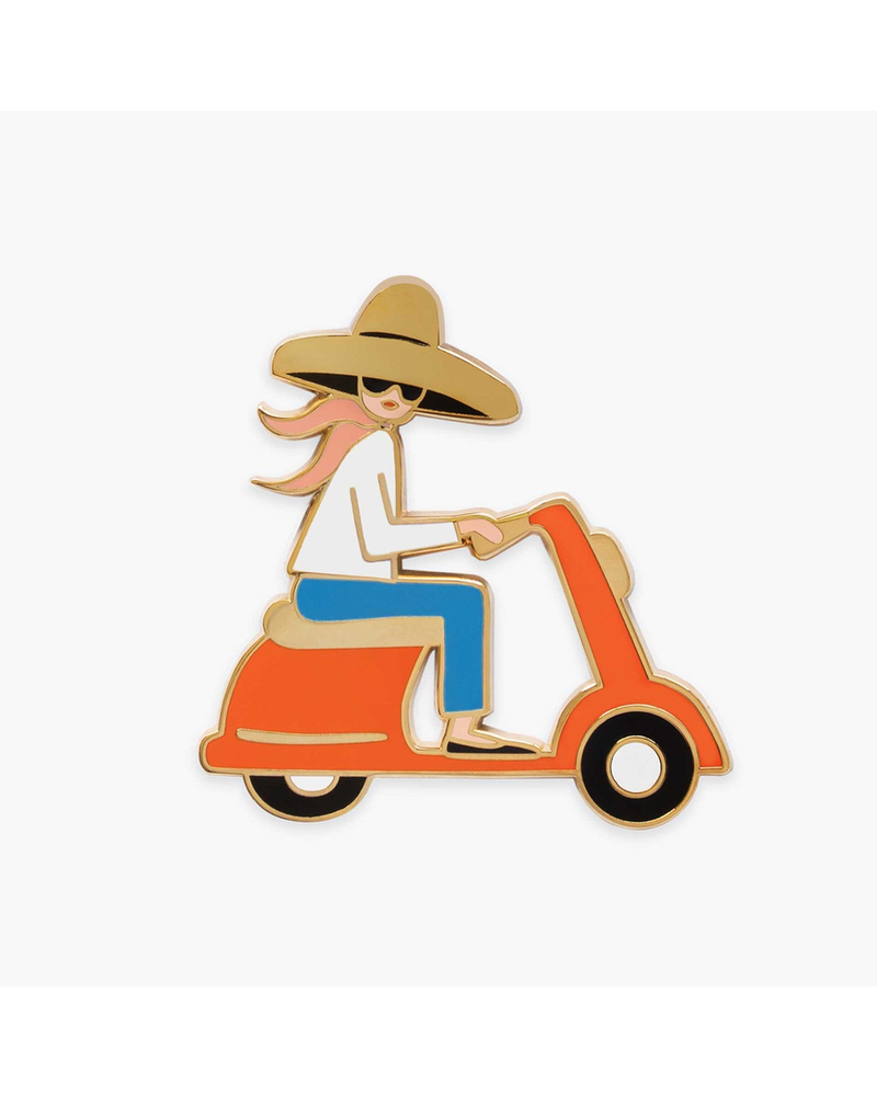 Rifle Paper Co Scooter Girl Rifle Paper Pin