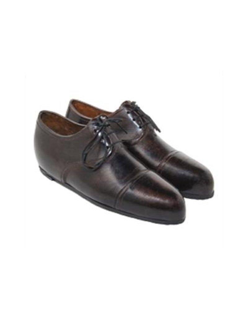 Pair of Oxford Wingtip Shoes Paperweight - Dark Brown