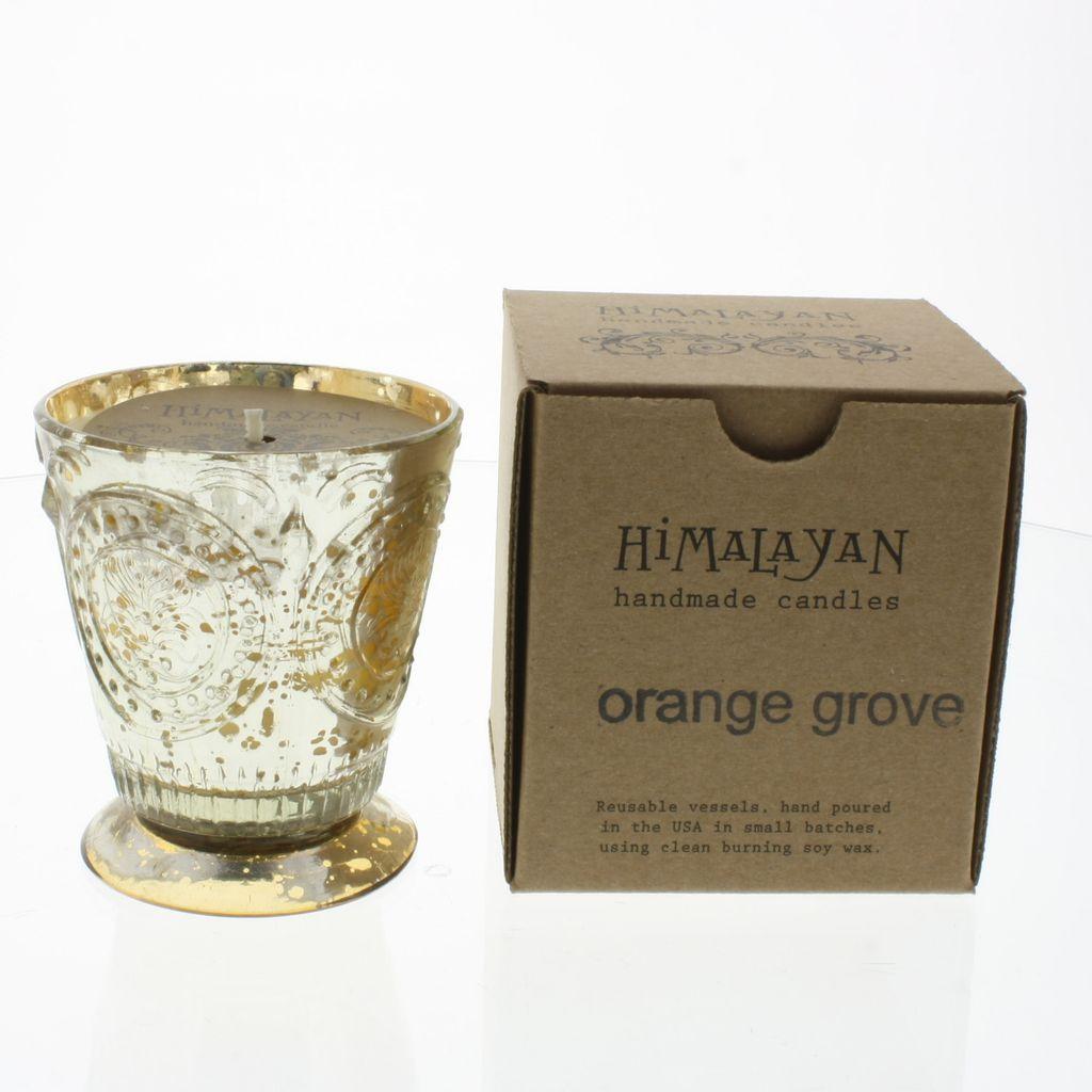 Fleur De Lys Orange Grove Soy Candle Areohome