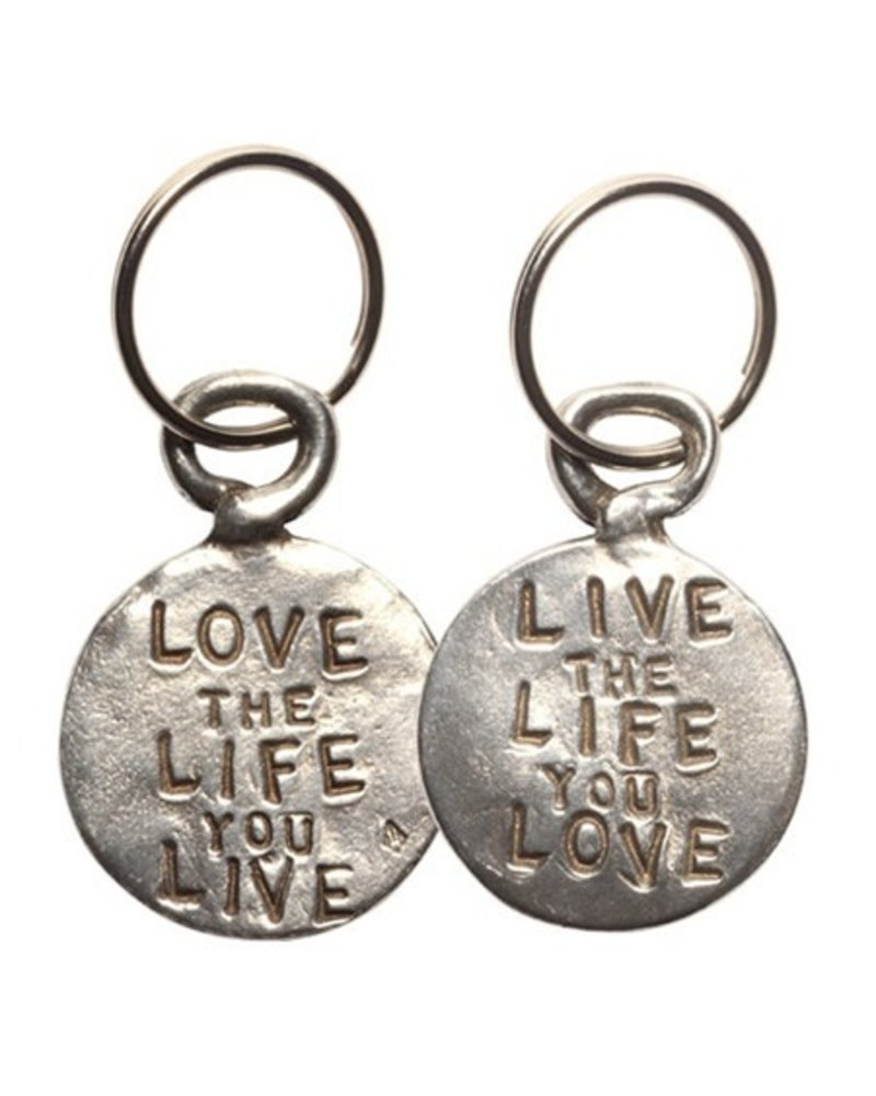Love Live Pewter Coin Keychain