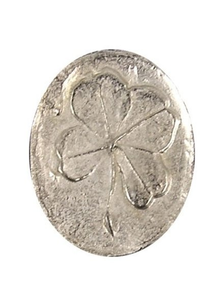 Pewter Pocket Clover Charm - Bakers Dozen (online only)