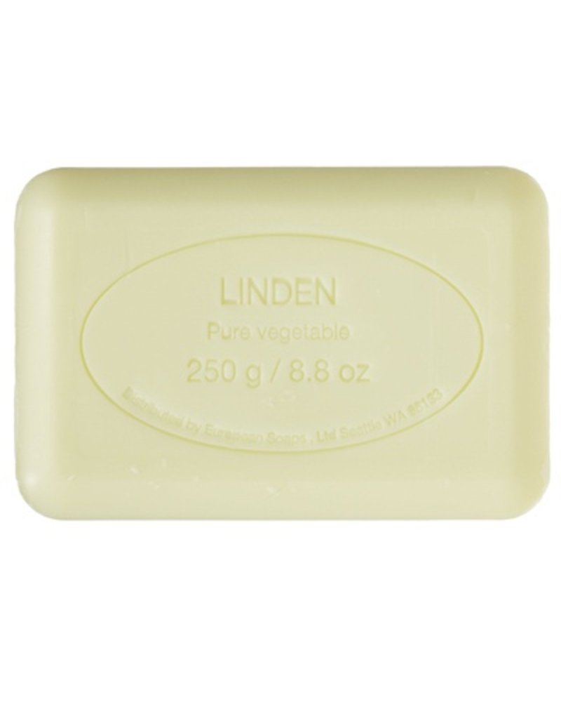 European Soaps Linden 250g Soap - Set of 2 (online only)