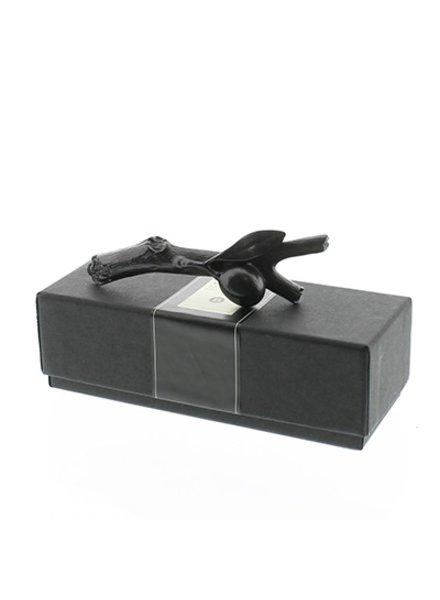 Sculptural Graphite Pen-Olive Branch Sm