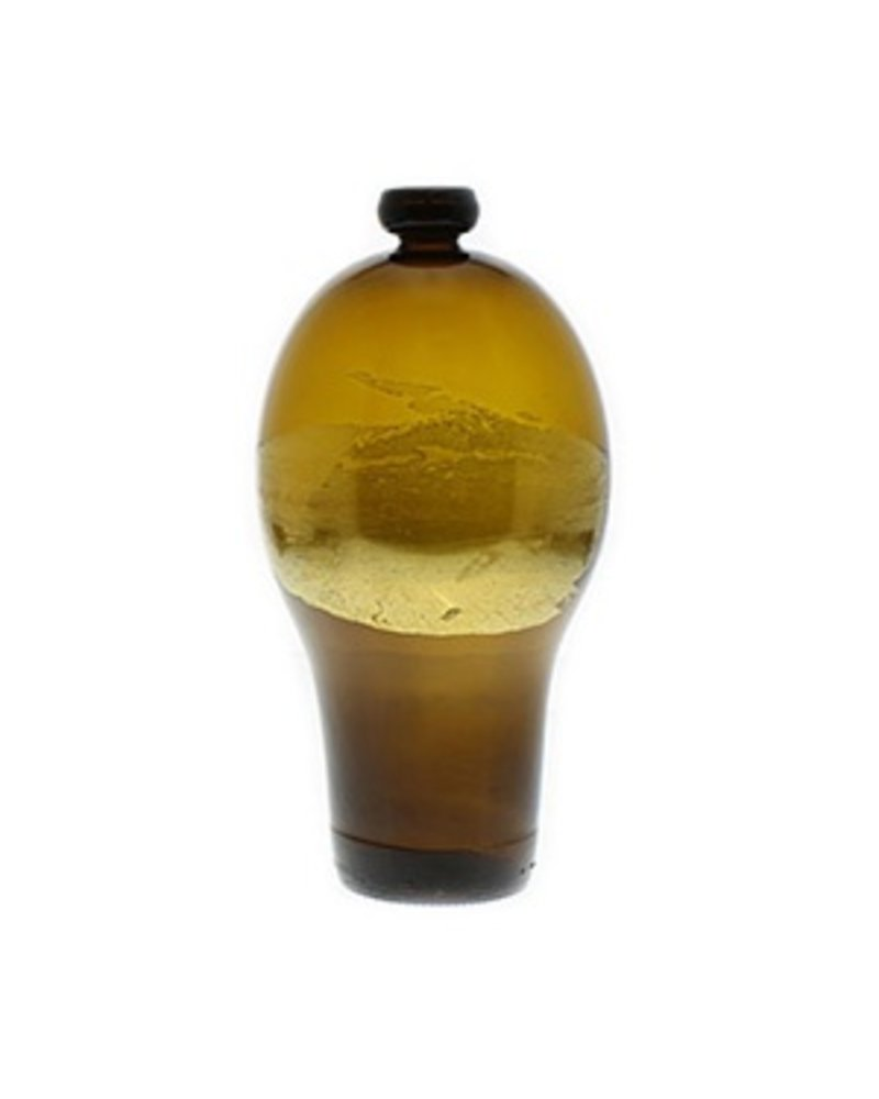 Nanda Soderberg 24K Beer Bottle Brown Vase Sm