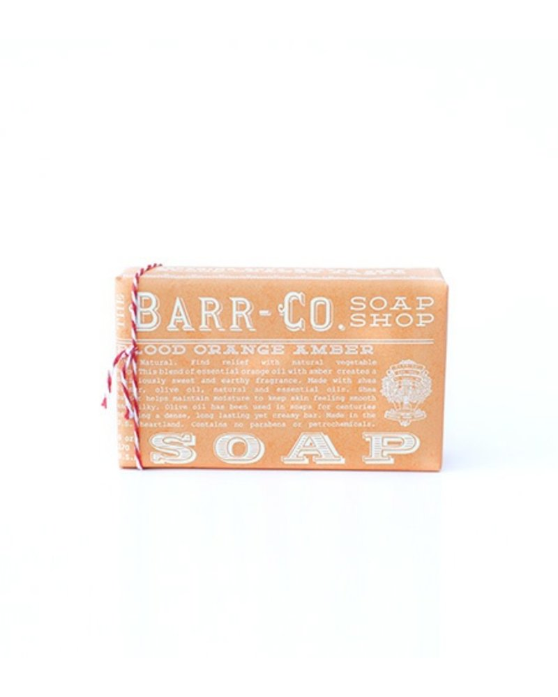 Barr-Co Blood Orange 6oz Bar Soap