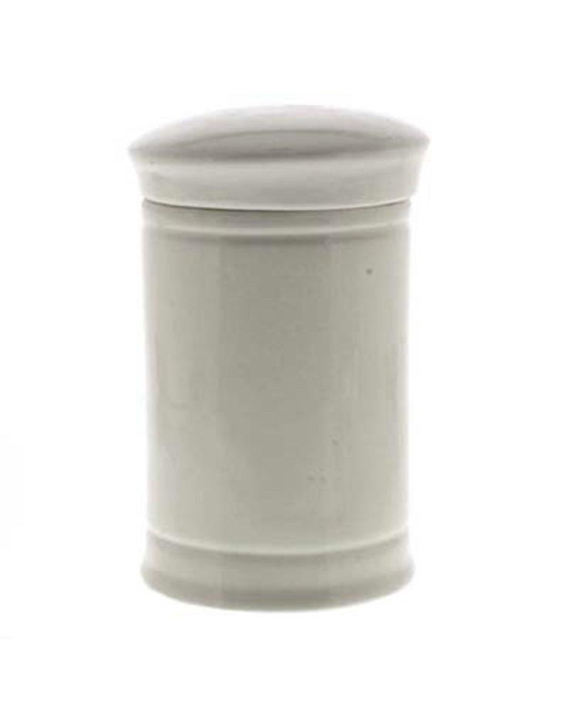 Elect. Sennae Med Ceramic Apothecary Jar