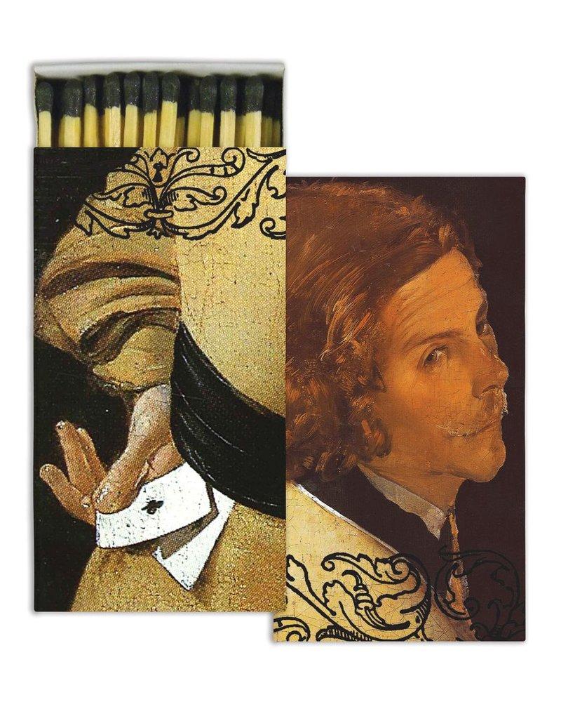 HomArt Portrait Man HomArt Matches - Set of 3 Boxes