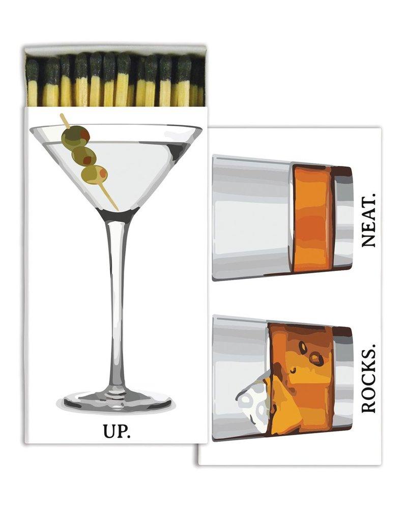 HomArt Cocktail HomArt Bar Matches - Set of 3 Boxes