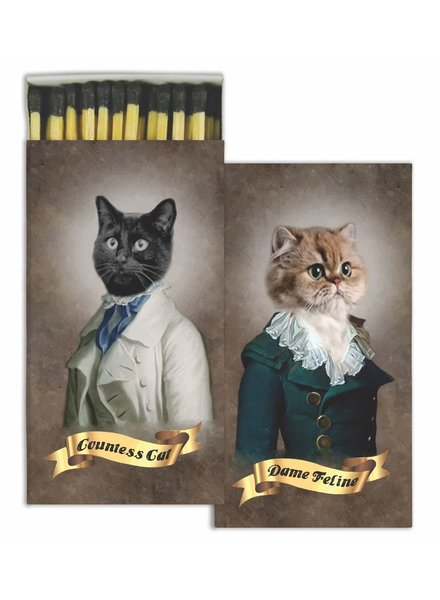 HomArt Regal Cats HomArt Pet Matches - Set of 3 Boxes