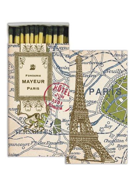 HomArt Paris Map HomArt Matches - Set of 3 Boxes