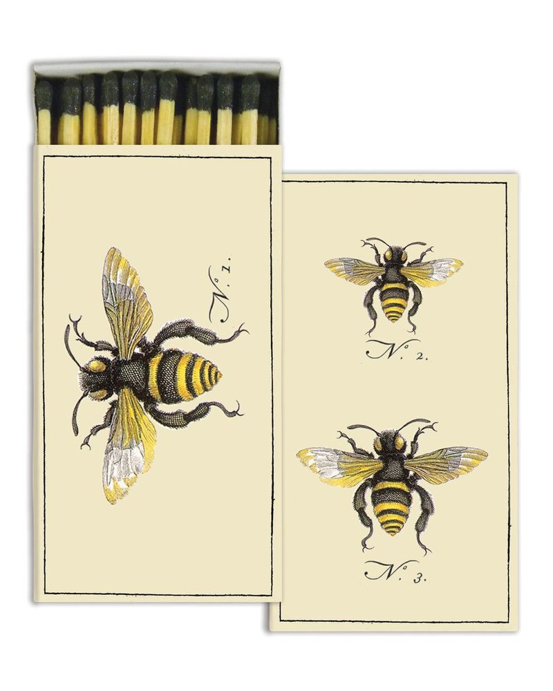HomArt Bee HomArt Insect Matches - Set of 3 Boxes