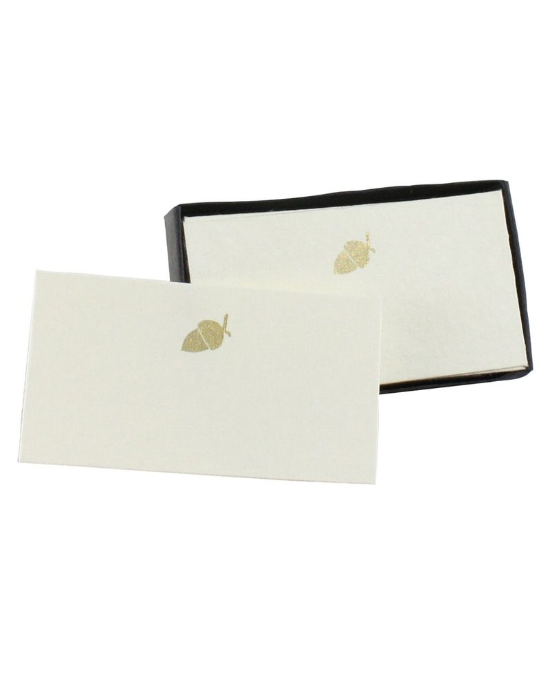 HomArt Printed Paper Card - Box of 32 Acorn