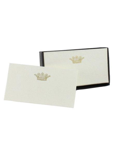 HomArt Printed Paper Card - Box of 32 Crown