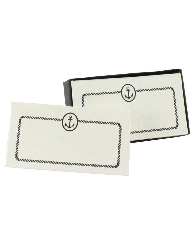 HomArt Printed Paper Card - Box of 32 Anchor