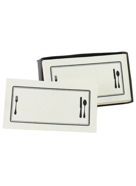 HomArt Printed Paper Card - Box of 32 Place Setting