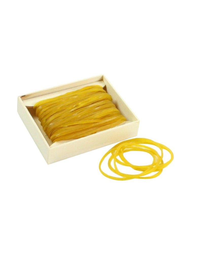 HomArt Rubber Bands Natural - Set of 6 Boxes