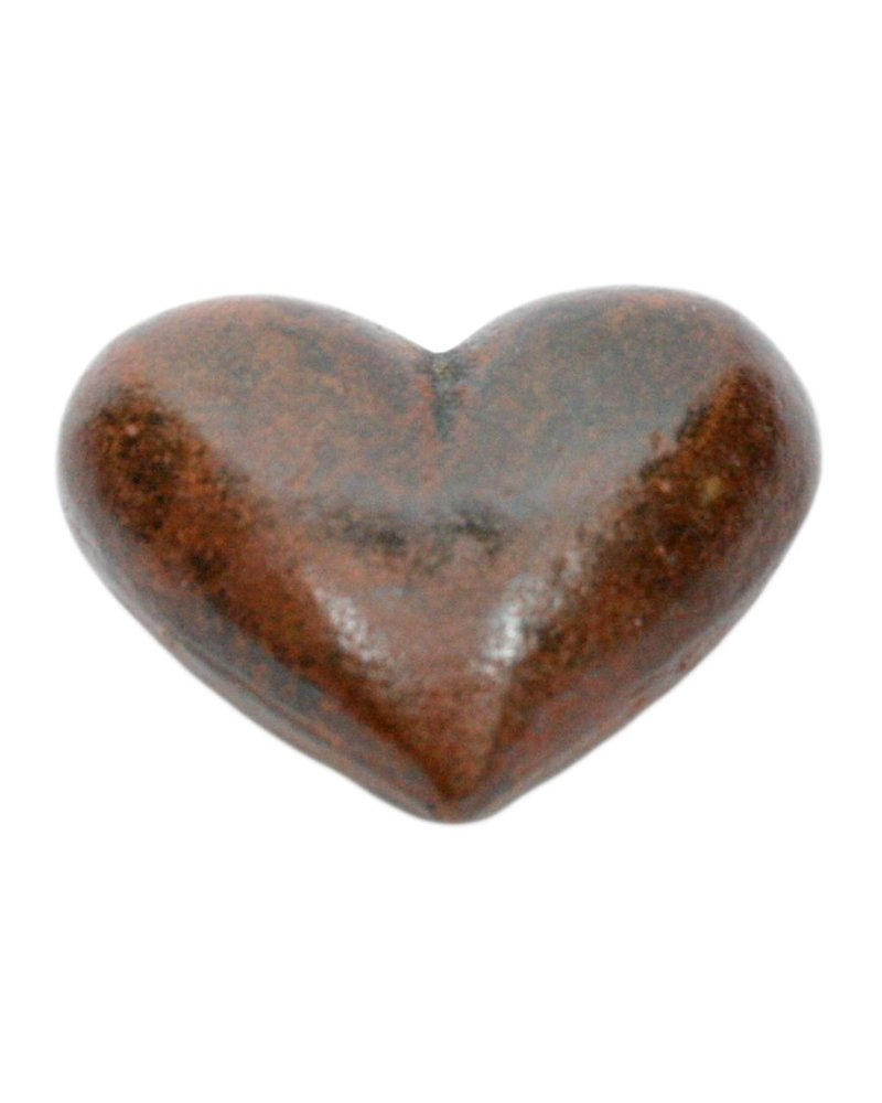 HomArt Heart - Cast Iron Rust - Set of 2