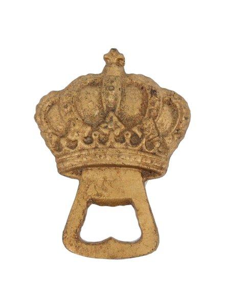HomArt Gold Crown HomArt Cast Iron Bottle Opener