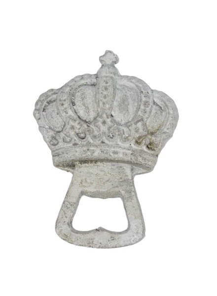 HomArt Silver Crown HomArt Cast Iron Bottle Opener - Set of 2