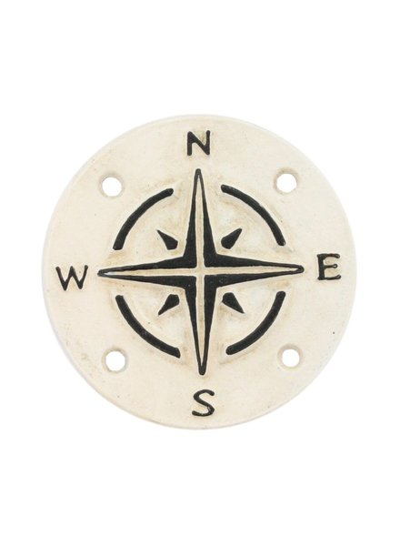 HomArt Cast Iron Sign - Compass