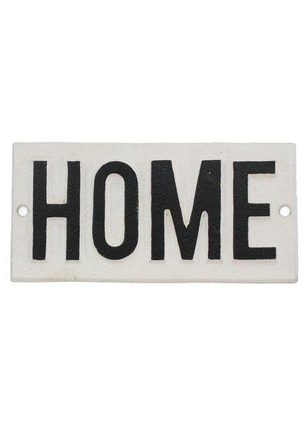 HomArt Cast Iron Sign - HOME