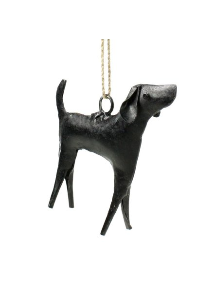 HomArt Reclaimed Metal Ornament - Dog