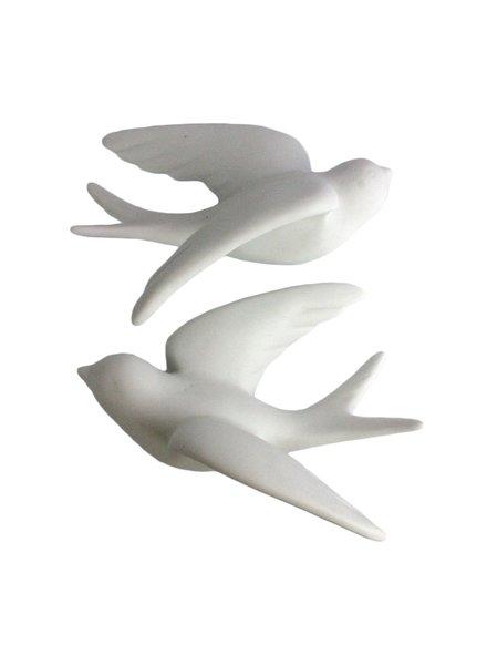 HomArt Ceramic Swallow - Sm White