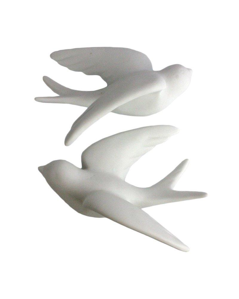 HomArt Ceramic Swallow - Lrg White