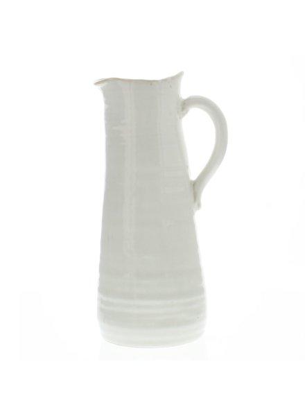 HomArt Summerland Ceramic Vase - Ex Lrg Cream