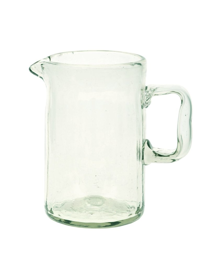 HomArt Hacienda Recycled Glass Pitcher