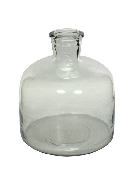 HomArt Milton Glass Bottle - Lrg Clear