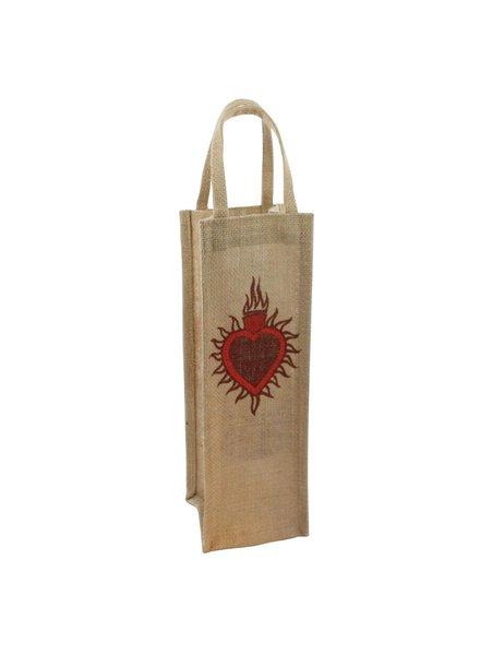 HomArt Wine Tote - 1 Bottle - Sacred Heart