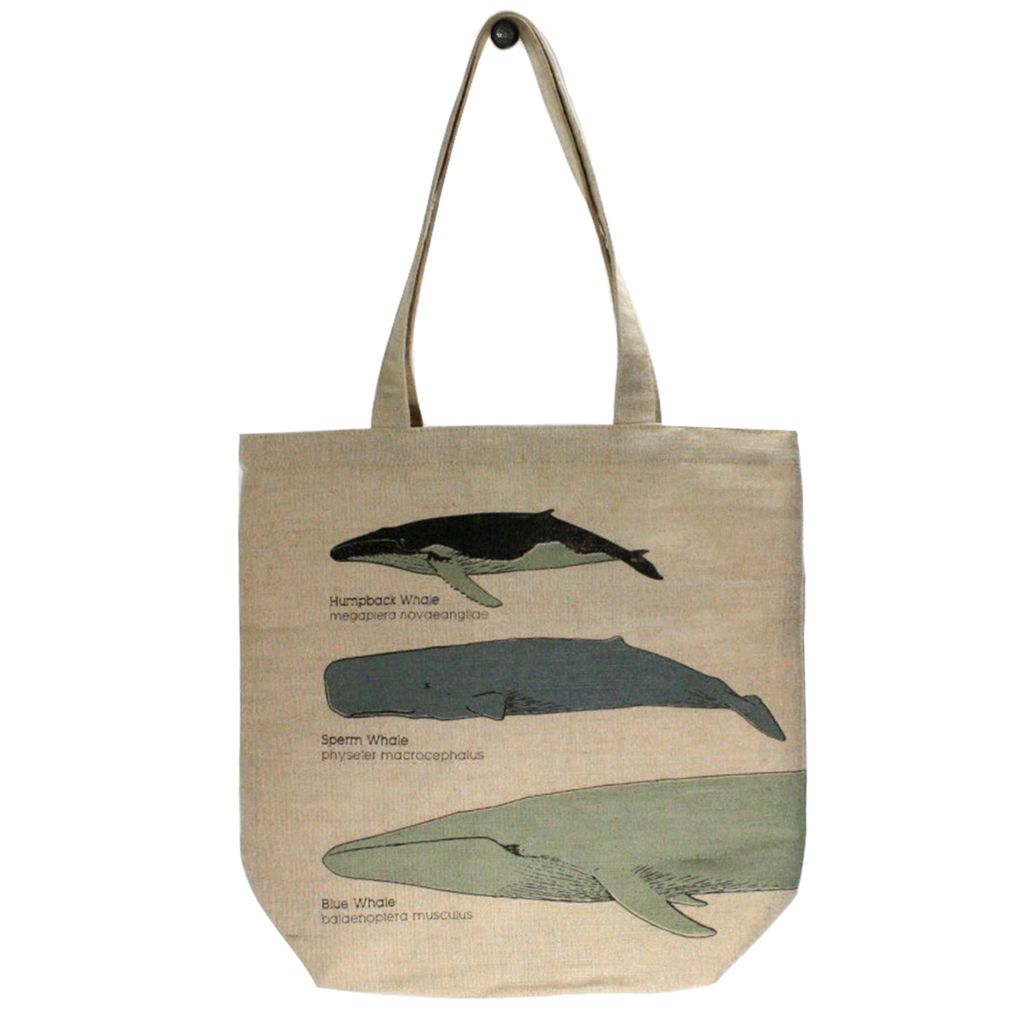 Homart Juco Tote Bag Whale Chart