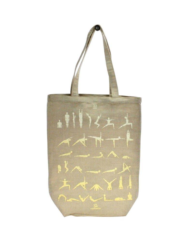 HomArt Juco Tote Bag Yoga