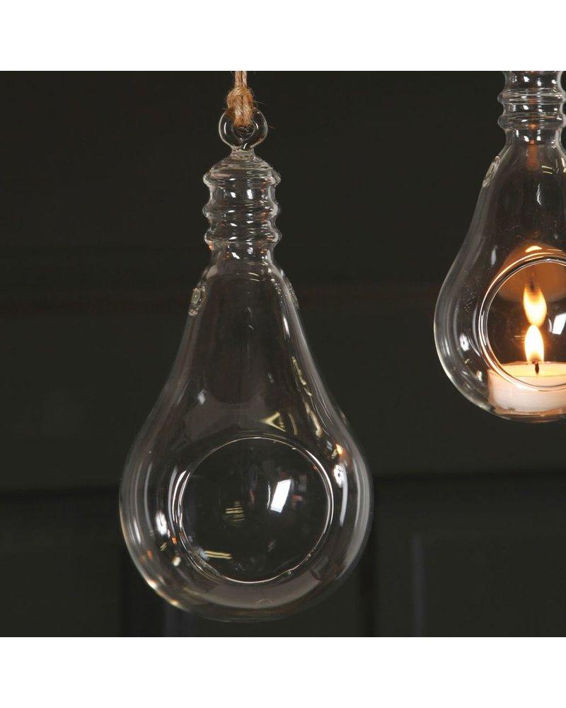 HomArt Hanging Glass Light Bulb - Lrg Clear