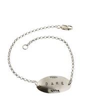 Dare-Sterling Silver Affirmation Bracelet