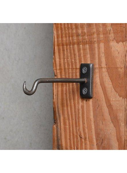 HomArt Bijou Wall Hook 4 in - Steel Natural