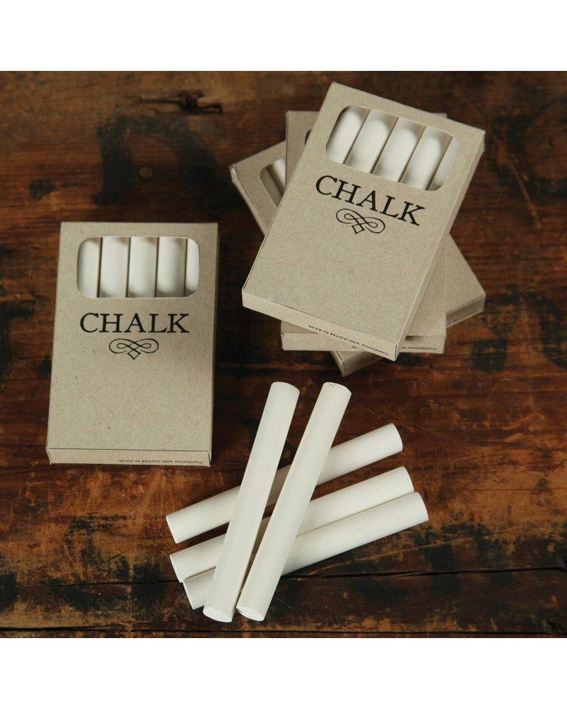 HomArt Box of Chalk - 5 Sticks White - Set of 6 boxes