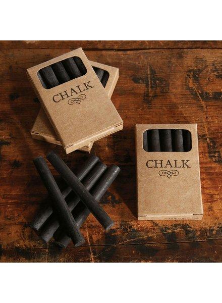 HomArt Box of Chalk - 5 Sticks Black
