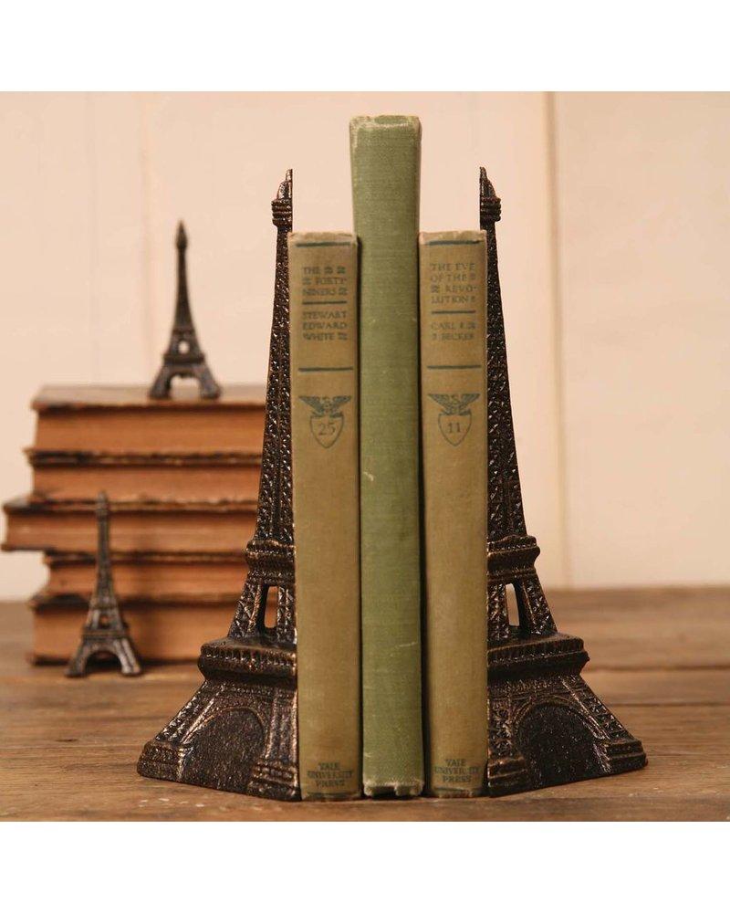 HomArt Eiffel Tower Bookends - Cast Iron Bronze