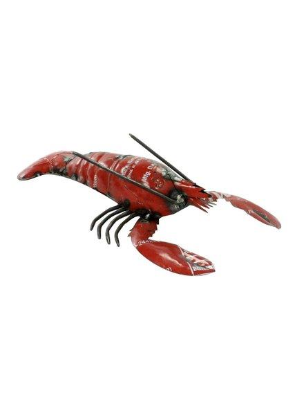 HomArt Reclaimed Metal Lobster Red