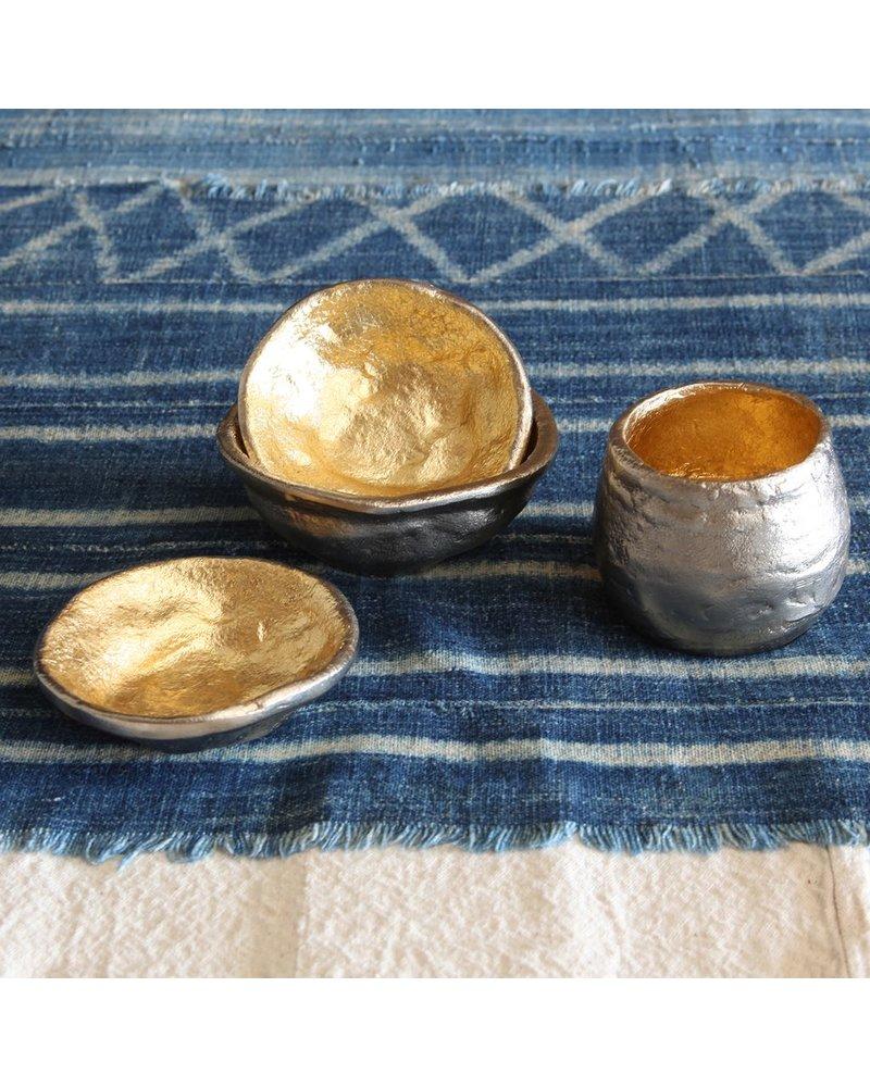 HomArt Strada Organic Cast Metal Bowl - Lrg