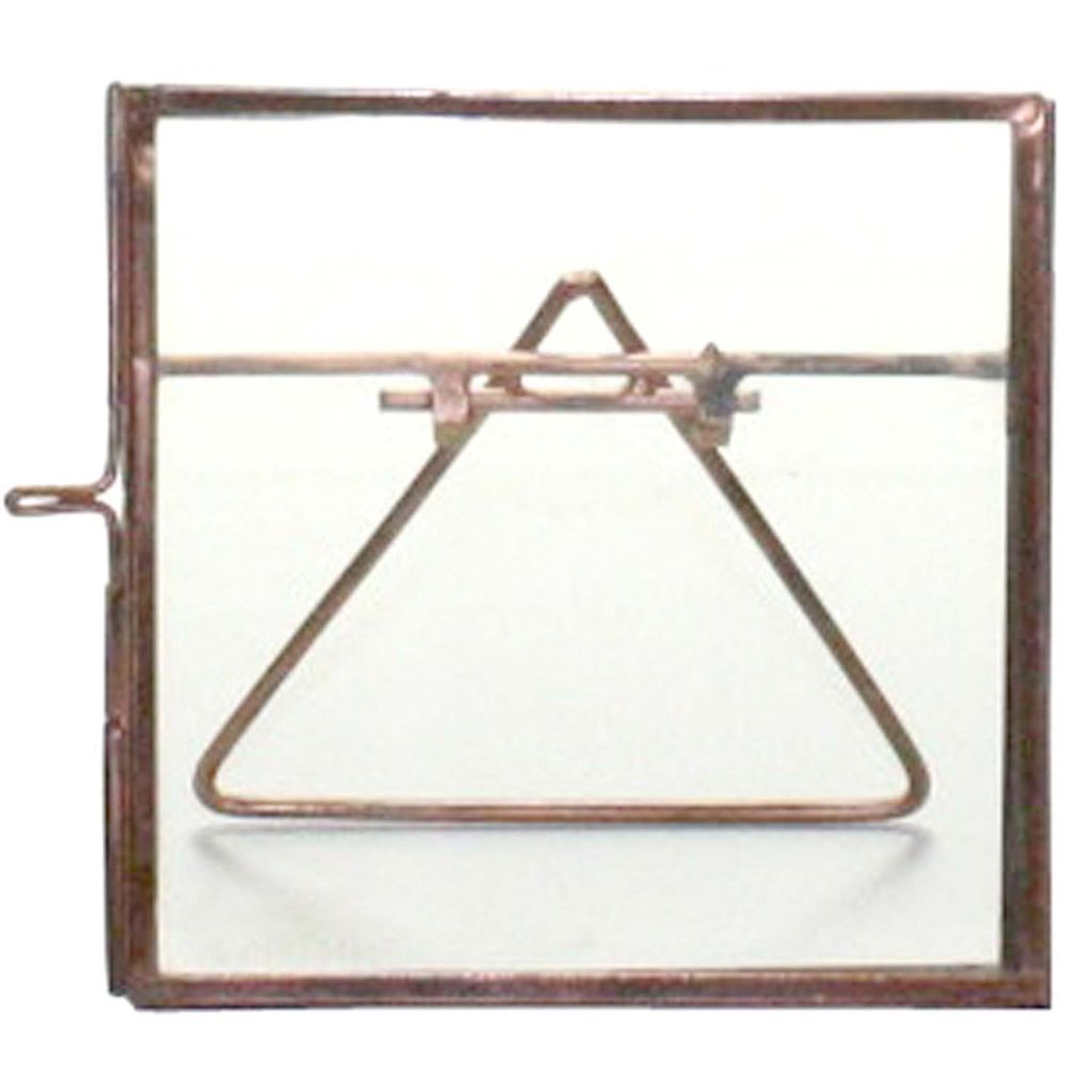 Homart Cornell Easel Frame 4x4 Copper Areohome